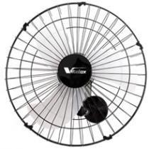 Ventilador de parede 60cm 200w cor preto grade 40 fios vitalex - 110v - Vitalex