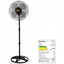 Ventilador oscilante de coluna gold grade aco 50cm preto bi-volt - ventidelta. - Venti-delta