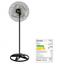 Ventilador oscilante de coluna gold grade aco 60cm preto bi-volt - ventidelta. - Venti-delta