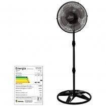 Ventilador oscilante de coluna new premium grade plastica 50cm preto bi-volt - ventidelta. - Venti-delta