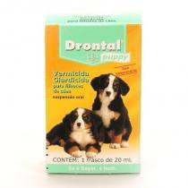 Vermifugo drontal puppy suspensao 20ml para caes filhotes - bayer -