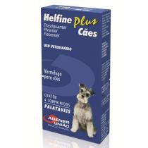 Vermífugo Helfine Plus Agener União para Cães 4 Comprimidos -
