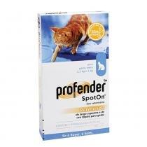 Vermífugo Profender SpotOn Bayer 0,70 ml - Bayer