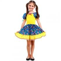 Vestido de Festa Junina Caipira Caipirinha Infantil - Sulamericana 5ff3e8a305a