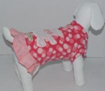 Vestido Soft Ursinho Bolinha - Bonito pra Cachorro -