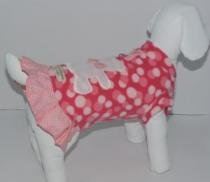 Vestido Soft Ursinho Bolinha - Bonito pra Cachorro - bonito pra cachorro