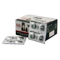 Vetmax Plus Vermífugo Cães 10kg c/ 40 comp (emb. Hospitalar) - Vetnil -