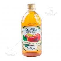 Vinagre de fruta maçã (c/ açúcar mascavo) 500ml - Senhor Viccino -