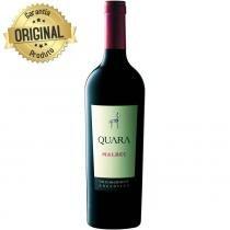 Vinho Argentino Malbec Tinto Garrafa 750ml - Quara - Lambrusco
