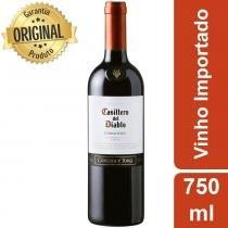 Vinho Chileno Casillero Del Diablo Carmenere Tinto Garrafa 750ml - Concha Y Toro -