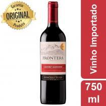 Vinho Chileno Frontera Cabernet Sauvignon Garrafa 750ml - Concha Y Toro -