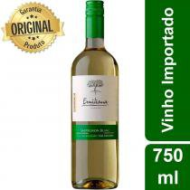 Vinho Chileno Sauvigon Branco Garrafa 750ml - Emiliana - Baron darignac