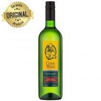 Vinho Culinário Nacional Cook Wine Branco Seco Garrafa 750ml - Mioranza -