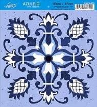 Vinil Adesivo Azulejo Decorativo e Parede VAXV-005 - Litoarte - Litoarte