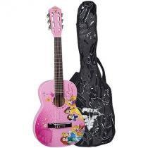 Violão Acústico Infantil Phx Disney princesa Vip-3 Com Bag