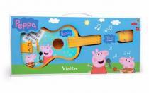 Violão Da Peppa Pig Elka -