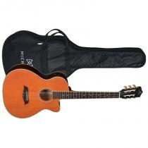 Violão Michael Taurus VM681DT Venetian com Equalizador Tensor e Bag Satin Honey -