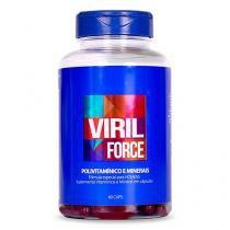 Viril Force Polivitamínico Masculino 60 Caps - Saúde Garantida