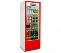 Visa cooler multiuso conservex - vermelho / 400 lt / 220 v - Conservex