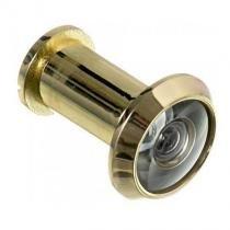 Visor p/ porta olho magico 35 a 52 mm dourado 180º - Gold Chaves