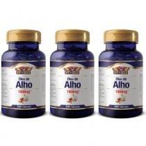 Vit Gold Óleo De Alho 1500mg C/100  (Kit C/03) -