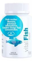 Vital fish - oleo de peixe em capsulas -omega 3 e 6 - vital atman -