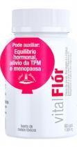 Vital flor - oleo de peixe, borragem e linhaca - omega 3 e 6 - 60 capsulas - vital atman -