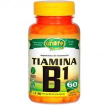 Vitamina B1 Tiamina 60 cápsulas Unilife - Unilife