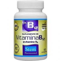 Vitamina B12 + B6 60 Cápsulas - Stem Pharmaceutical