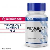 Vitamina d 400 ui 60 caps - Unicpharma