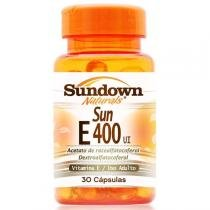 Vitamina E - Sun E 400ui 30 caps - Sundown Naturals -