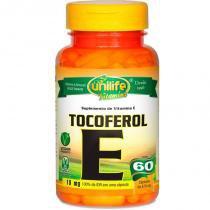 Vitamina E Tocoferol 60 cápsulas Unilife - Unilife