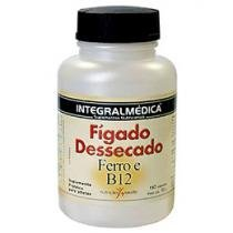 Vitamina Fígado Dessecado Ferro e B12 150 Tabletes - Integralmédica