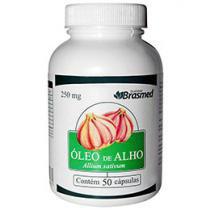 Vitamina Óleo de Alho 50 Cápsulas - Brasmed