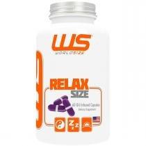 Vitaminas e Minerais RELAX SIZE - Worldsize - 60 Caps - World size