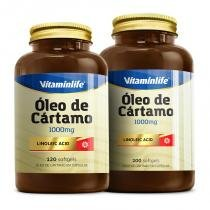 Vitaminlife oleo cartamo 1000mg 120 caps -