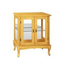 Vitrine Baixa com Prateleira de Vidro e Espelho - Wood Prime MY 907276 - Wood Prime - MY