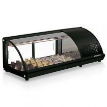Vitrine Refrigerada para Sushi Black - GVRB-120PR - Gelopar -