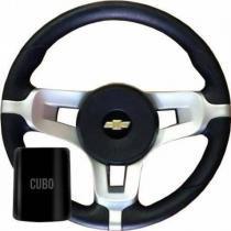 Volante esportivo GM Astra Novo Corsa com cubo - Valepur