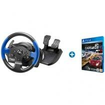 Volante para PS3 PS4 PC Thrustmaster T150  - Force Feedback + Project Cars 2 para PS4