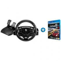 Volante para PS3 PS4 PC Thrustmaster T80  - Racing Wheel + Project Cars 2 para PS4