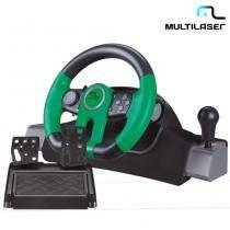 Volante Racer Para Xbox One, PC Com Marcha Acoplada JS077 - Multilaser -