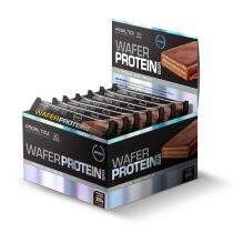 Wafer Protein Bar - Display c/ 12 unids de 30g - Chocolate com Avelã Probiótica - Probiotica
