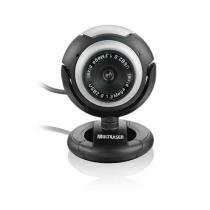 Web Cam Plugeplay 16mp Vision Mic Usb Preto Grafite Wc044 - Multilaser - Multilaser