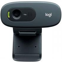 Web Câmera Logitech C270 3.0Mpixel - Videochamadas em HD 720p - com Microfone - 960-000947 -