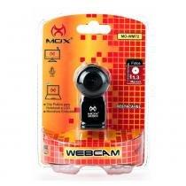 Webcam 1.3 MPX MO-WM72 Destacável Preta - Mox