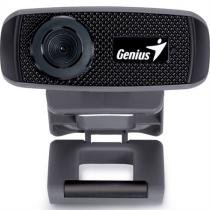 Webcam 1000X Hd 720P Usb 2.0 Zoom 3X Preto Facecam Genius -