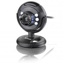 Webcam 16MP Night Vision USB PlugPlay Preto WC045 - Multilaser - Multilaser