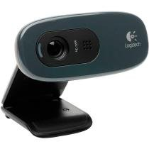 WebCam C270 com Porta USB 1.1 HD - Logitech -
