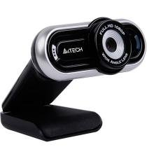 WebCam com Microfone PK-920H 16MP Full HD Preta/Prata - A4 Tech - A4 Tech